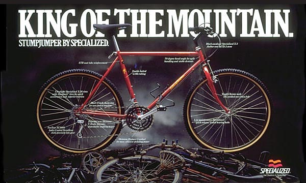 Specialized King of the Mountain Spread